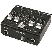 Citronic Mini:Mix1 2-Kanal USB Mixer Mikrofon