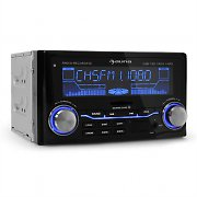 Auna MD-200 autoradio USB SD MP3 radio-registrazione