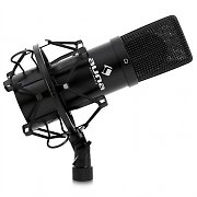 Auna MIC-900B USB Kondensator Mikrofon schwarz Niere Studio