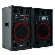 Skytec SPB-12 Aktiv Passiv Boxen Set 800W 30cm Woofer