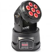 Beamz MHL-74 Moving-Head Mini Wash 7X10W DMX 13-canali RGBW