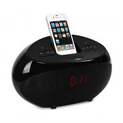 H&B IP-26i iPhone & iPod docking station USB/SD sveglia