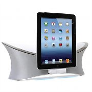 MQSystems MW-1238 Docking Station  iPad-iPhone-iPad bianca