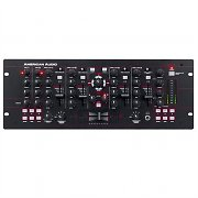 American Audio 19 MXR 4-Kanal-DJ-Mixer USB-MIDI PC MAC