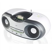 One by SEG AP124 Boombox MP3 CD AM FM AUX batterie