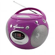 Soundmaster SCD2200 boombox rosa CD FM AM batterie