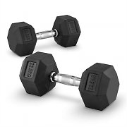 Capital Sports Hexbell Dumbbell Kurzhantel Paar 22,5kg