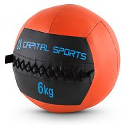 Capital Sports Epitomer Set Wall Ball 6kg Kunstleder 5 Stück orange