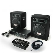Bass Boomer USB Set Audio DJ  completo 800W