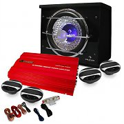 Auna Cougar Madrid Set car HiFi 4.1 3000W