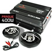 Auna Prague Set car HiFi 2.0 400W casse a 2 vie