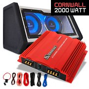Cornwall Set car HiFi 0.1 2000W amplificatore Cougar
