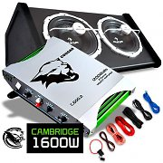 Cambridge Set car HiFi 0.1 subwoofer e ampli Cougar 1600W