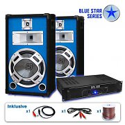 "PA Set Blue Star Series ""Starter"" 1200 Watt Anlage"