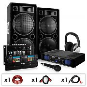 "DJ PA Set ""Munich"" 1x CD-Player 1x Verstärker 1x Mixer"