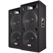 Paar PA-Boxen Auna PW-2522 2x 38cm (15&quot;) Subwoofer 3000W