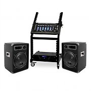 DJ PA Set Rack Star Series Mercury Beat Bluetooth 250 Personen