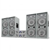 "DJ PA Set White Star Series ""Arctic Ice Pro"" 4000W"