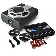 Auna SPL Black Line 340 Set car HiFi 2.1 2800W