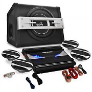 Auna Black Line 580 Set Car HiFi 4.1 2800W