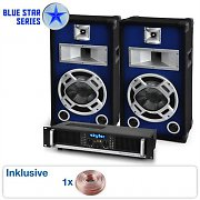 "Blue Star Series ""Beatbass I"" sistema audio 800 Watt"