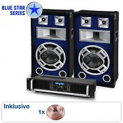 "Blue Star Series ""Beatbass II"" sistema audio 1200 Watt"
