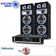 "Blue Star Series ""Bassboom"" sistema audio 1600 Watt"