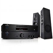 auna Hifi System 600W Verstärker CD MP3 Player Receiver & Beng Hifi Boxen