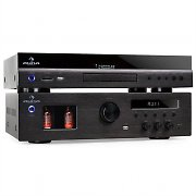 "Auna Elegance Tower ""Cinema"" Amplificatore valvolare DVD"