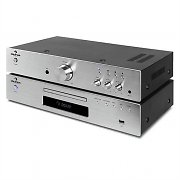"auna ""Elegance Tower"" 2.0 HiFi Set CD-Player USB 600W Stereo-Cinch Digital-Out"
