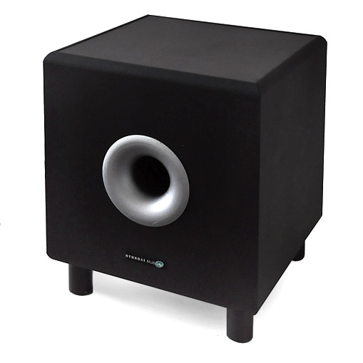 Subwoofer Hyundai Multicav Home Cinema. 120 W. Color negro