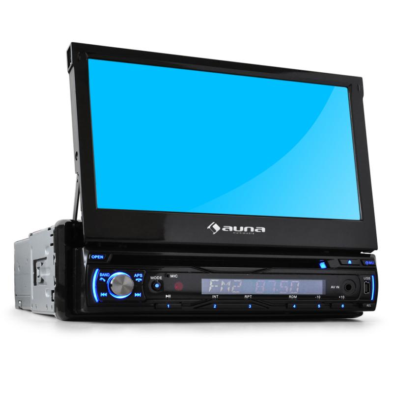 Autorádio Auna DTA90BT 18 cm Moniceiver Bluetooth DVD