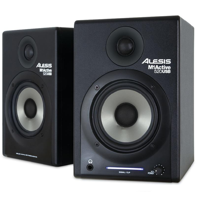 USB monitorové reproduktory Alesis M1Active 520, PC, MAC