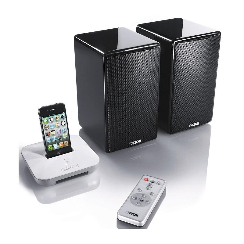 Canton your_Dock Base dock inal?mbrica iPhone iPod Blanca