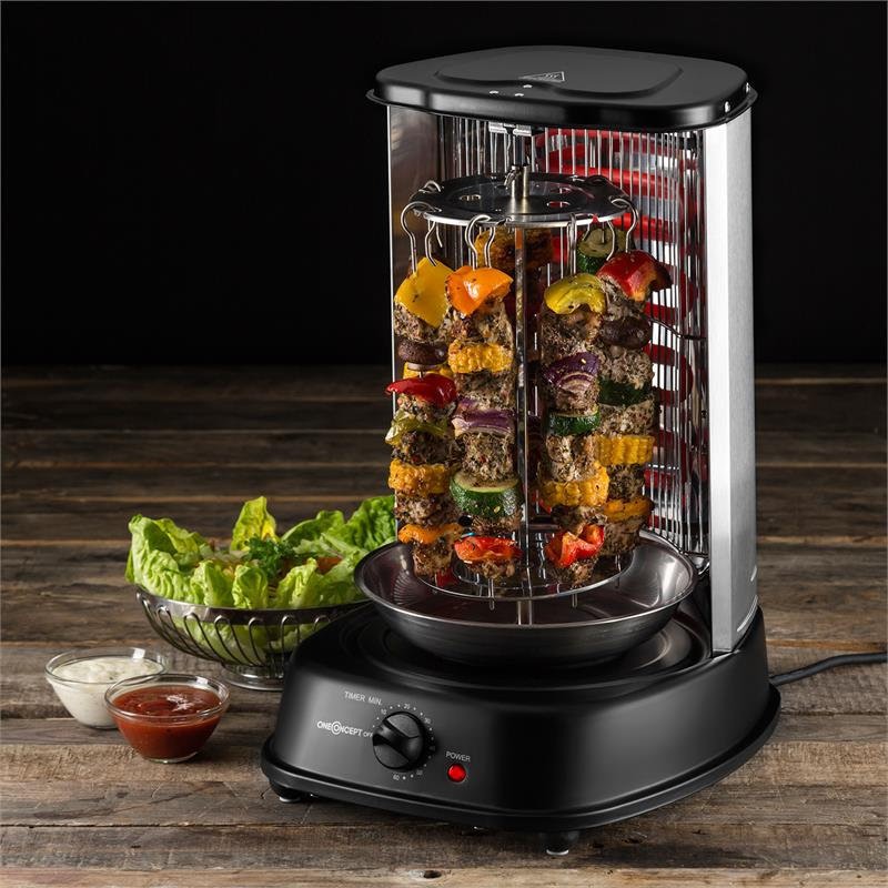 OneConcept Kebab Master HornoGrill vertical 1800W