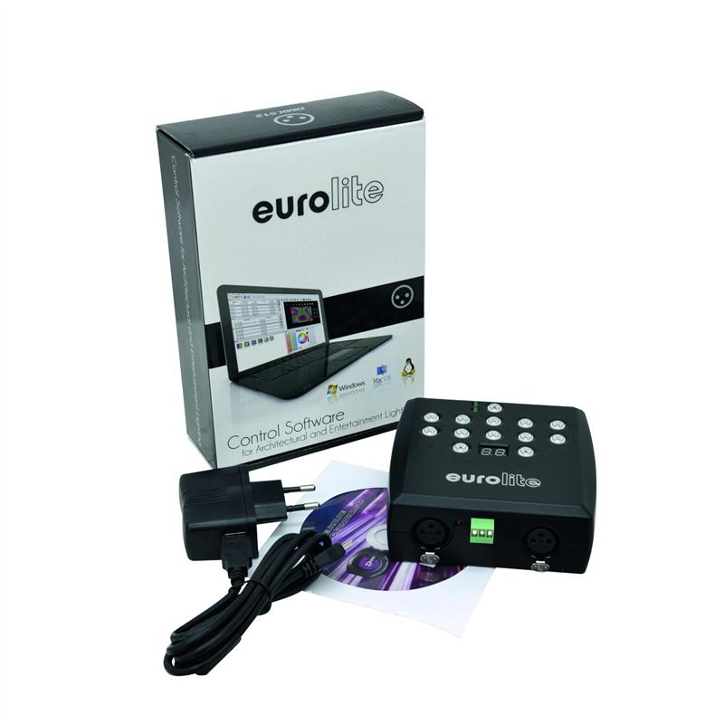 Eurolite LED SAP-1024 Standalone-Player DMX-Steuersoftware PC-Control 1024