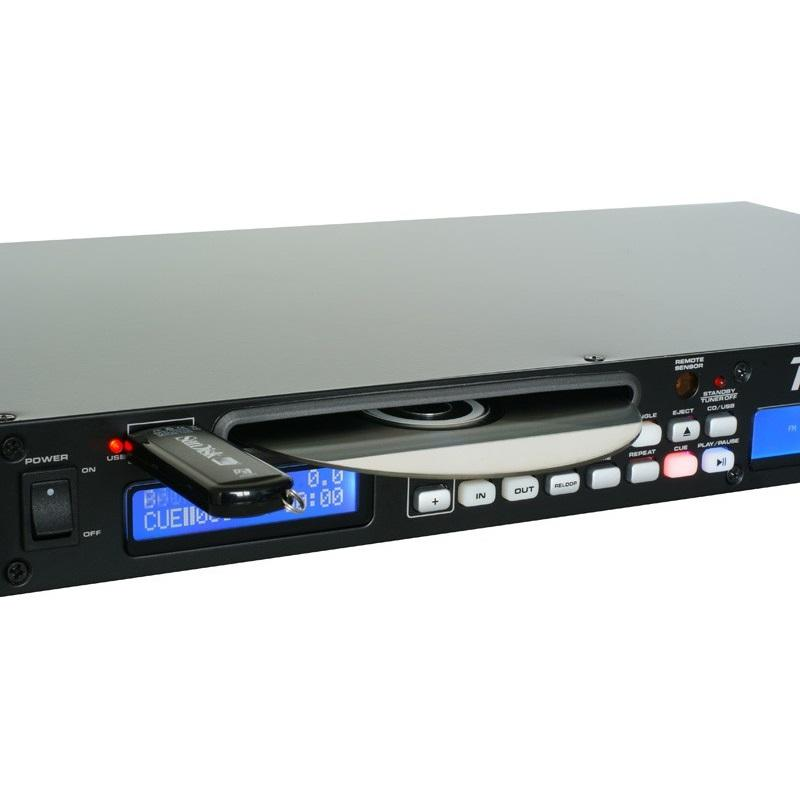 Power Dynamics PDC-60 Reproductor multimedia USB CD MP3