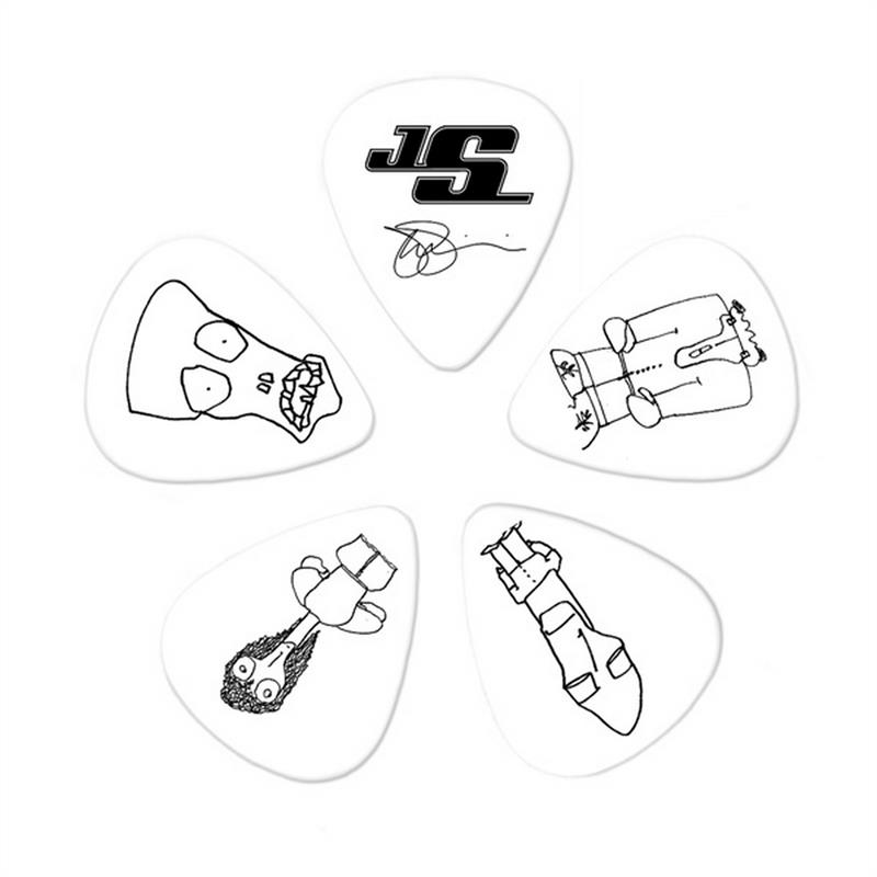 Planet Waves Plektren CWH6 10JS Joe Satriani COLLECTIBLE Guitar Picks 10er Pack