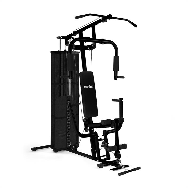 Ultimate Gym 3000 multifunktionale Fitness-Station schwarz