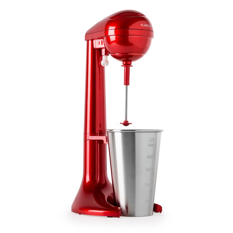 Klarstein Manhattan Drink Mixer 65W 450ml 25.000 U min. rot