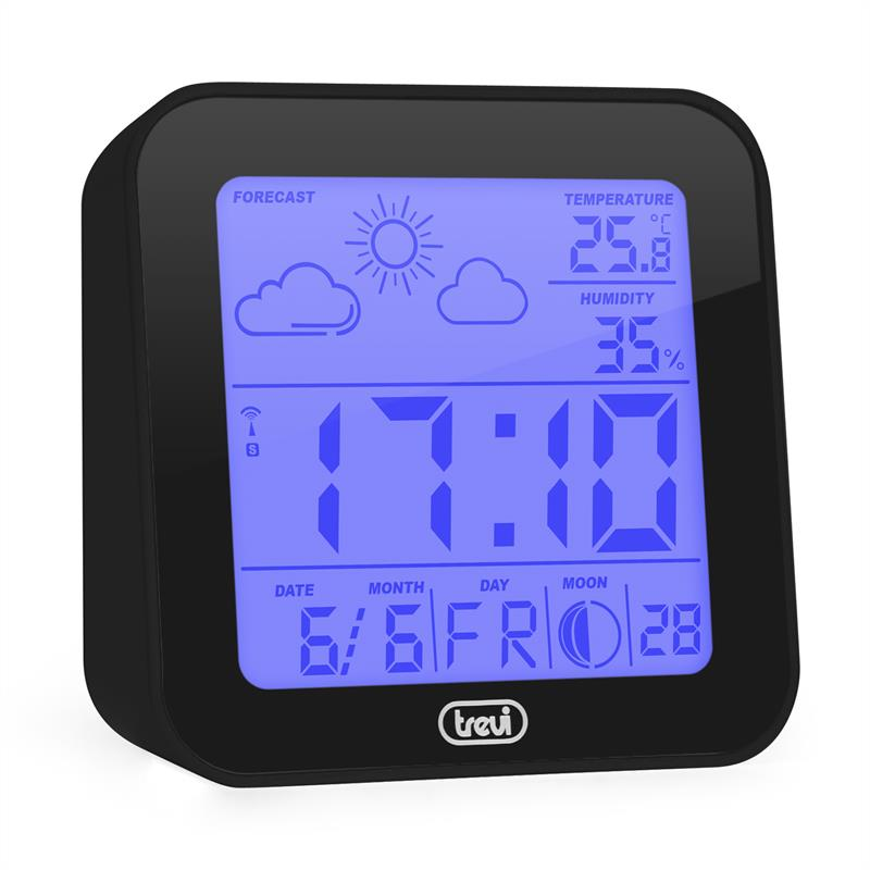 Trevi ME-3105 Wecker Wetterstation Thermometer ...