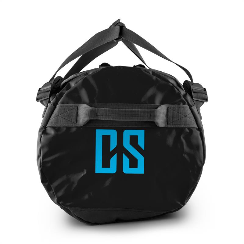 Capital Sports Journ Bolsa de deporte 60l Cil?ndrica Impermeable Robusta Negro