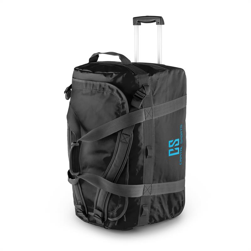 Capital Sports Journ Bolsa de viaje 90l Trolley Cil?ndrica Impermeable Robusta N