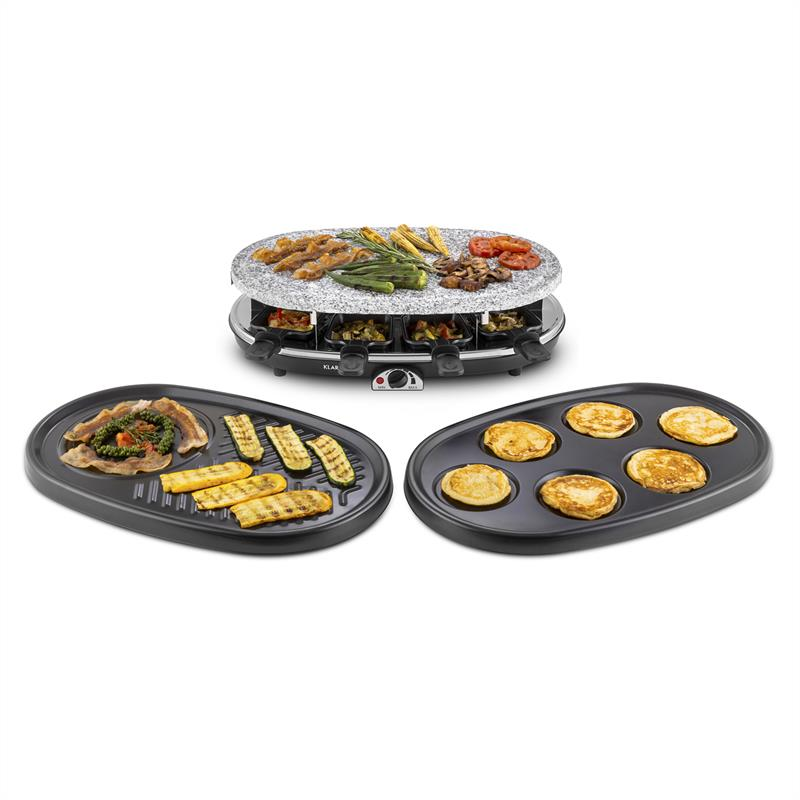 Klarstein All-U-Can-Grill Raclette con grill 4