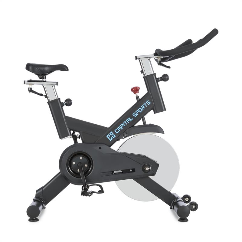 Capital Sports Spinnado - Pro18 bicicleta est?tica 18 kg Flywheel trasmisi?n de