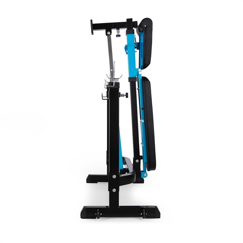 CAPITAL SPORTS Benchex Banco de entrenamiento Banco inclinado hasta 250 kg azul