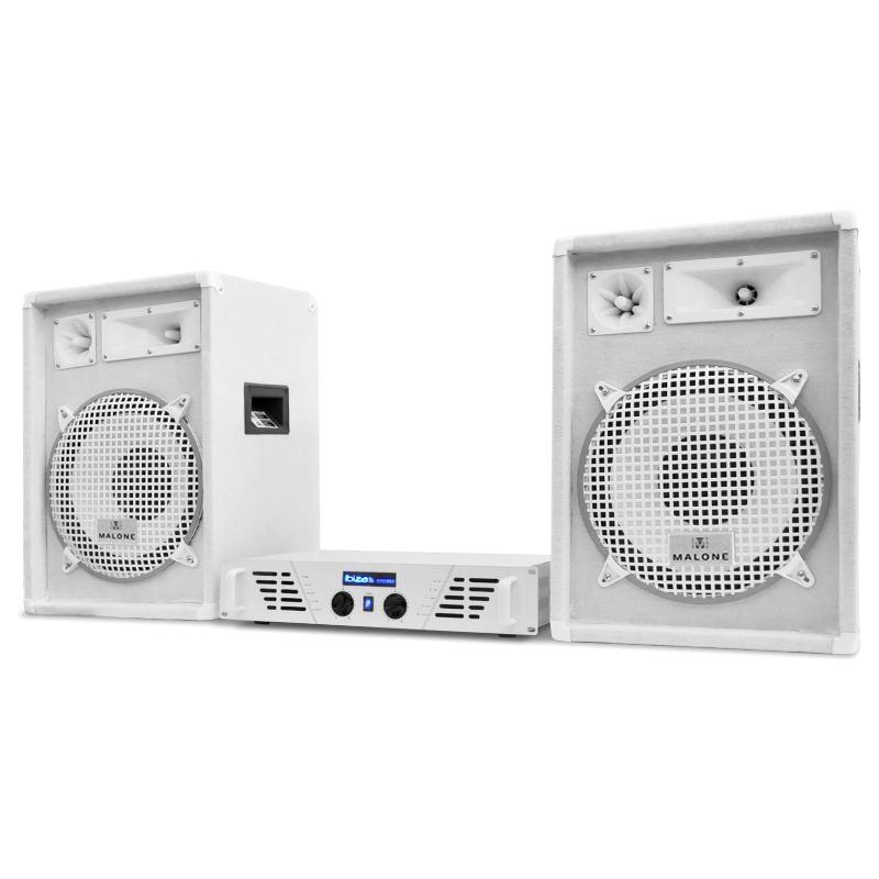 "DJ PA set""Arctic Winter"" zo série White star s výkonom 1200W"
