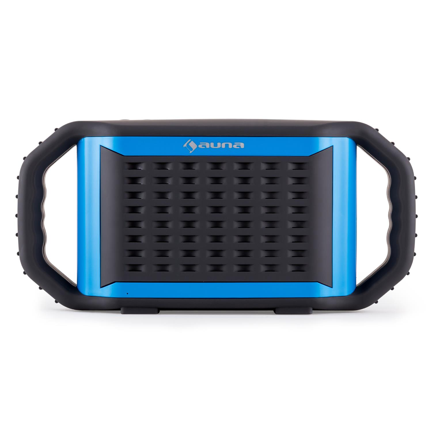 miniature 2 - ENCEINTE-NOMADE-SANS-FIL-BLUETOOTH-AUX-STREAMING-AUDIO-SMARTPHONE-TABLETTE-BLEU