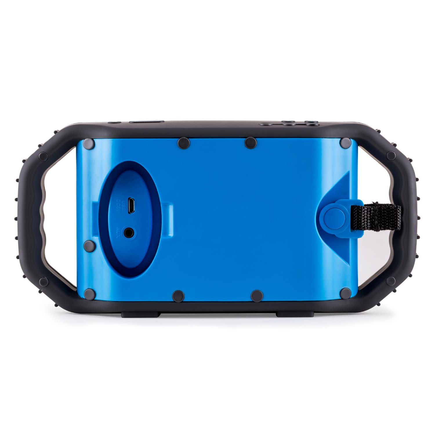 miniature 4 - ENCEINTE-NOMADE-SANS-FIL-BLUETOOTH-AUX-STREAMING-AUDIO-SMARTPHONE-TABLETTE-BLEU