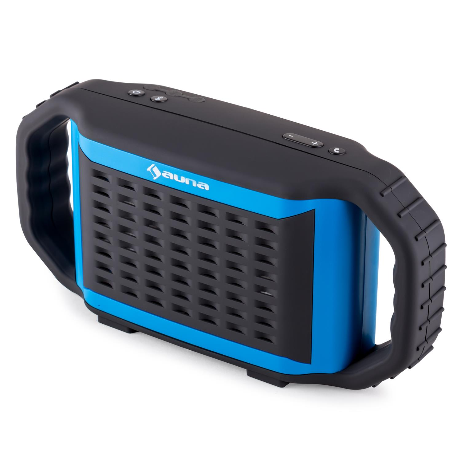 miniature 6 - ENCEINTE-NOMADE-SANS-FIL-BLUETOOTH-AUX-STREAMING-AUDIO-SMARTPHONE-TABLETTE-BLEU